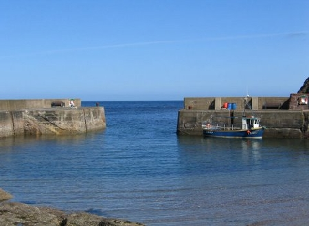 Pennan Village Harbour